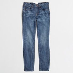 J. Crew Factory Boyfriend Jean in Ontario Wash